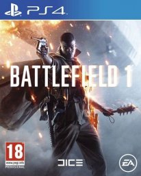 battlefield 1 ps4 jaquette cover