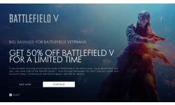 Battlefield V déjà bradé à -50 % sur Xbox One, mais seulement pour les fans