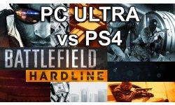 Battlefield Hardline PS4 versus PC