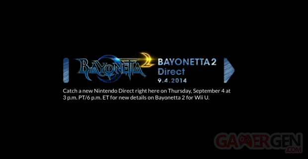 Bayonetta 2 Nintendo Direct