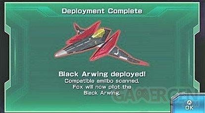 black awringstar fox zero falco amiibo