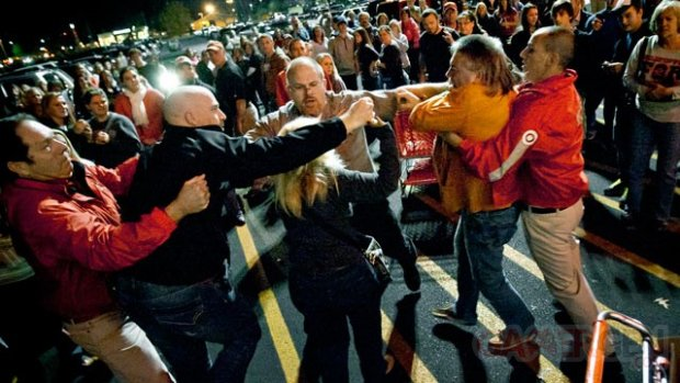 black friday usa emeute violence
