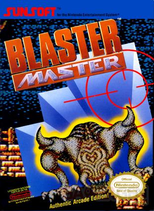 Blaster Master jaquette NES 05 11 2016