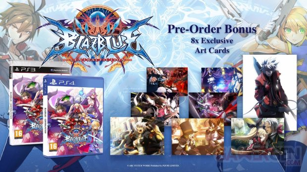 BlazBlue Central Fiction Novembre 4 Europe