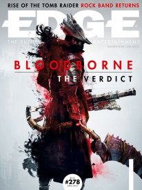 Bloodborne couverture EDGE