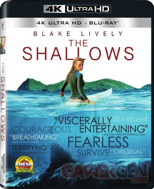 Blu ray UHD The Shallows