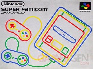 boite Super Nintendo Famicom