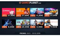 BON PLAN sur Gamesplanet : encore un tas de jeux en promotion, mais il faut faire vite