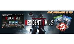 BON PLAN - Resident Evil 2 à 44,90 € avec les frais de port et les bonus de précommande offerts ! (#NePayezPasVosJeux70Euros)
