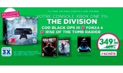 Bon plan Xbox One 3 avril
