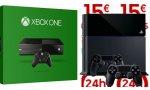 BON PLAN - Xbox One sans Kinect, PlayStation 4 avec deux manettes à partir de 288 euros