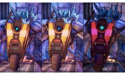 borderlands 2 comparaison ps3 xbox360 psvita