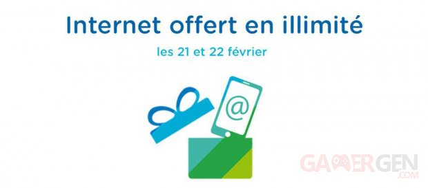 bouygues week end illimite offert 21 22 fevrier 2015