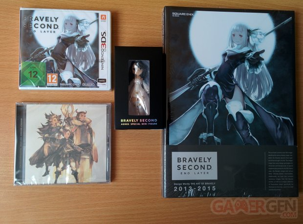 Bravely Second End Layer collector deballage unboxing photo 06