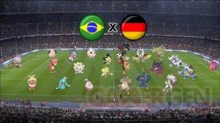 Bre?sil Allemagne poke?mon match coupe du Monde