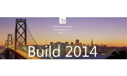 build developper conference microsoft 2014