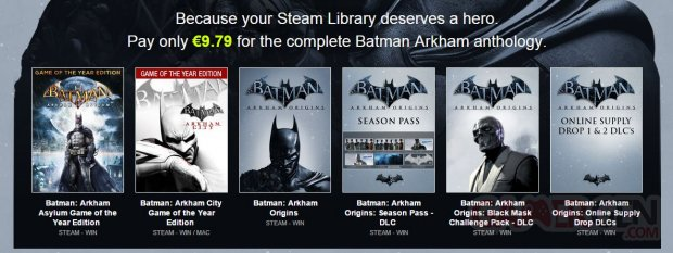bundle stars batman arkham