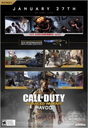 Call of Duty Advanced Warfare 31 12 2014 Havoc Ravages