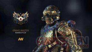 Call of Duty Advanced Warfare armure Grand Master