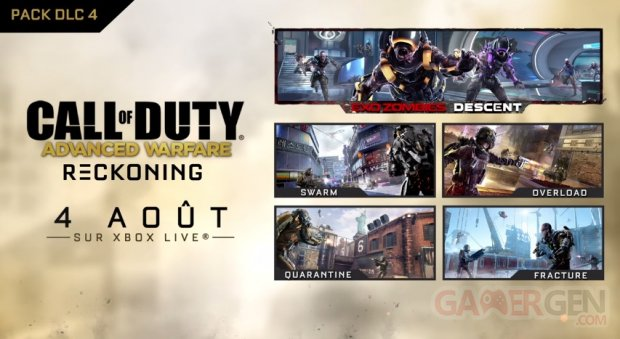 Call of Duty Advanced Warfare Reckoning 27 07 2015 banner