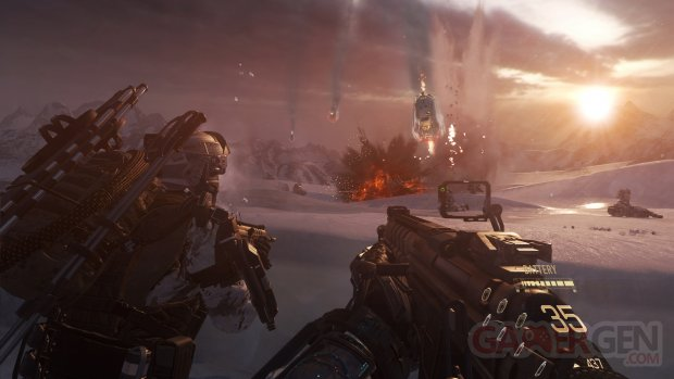 Call of Duty Advanced Warfare Review Crash