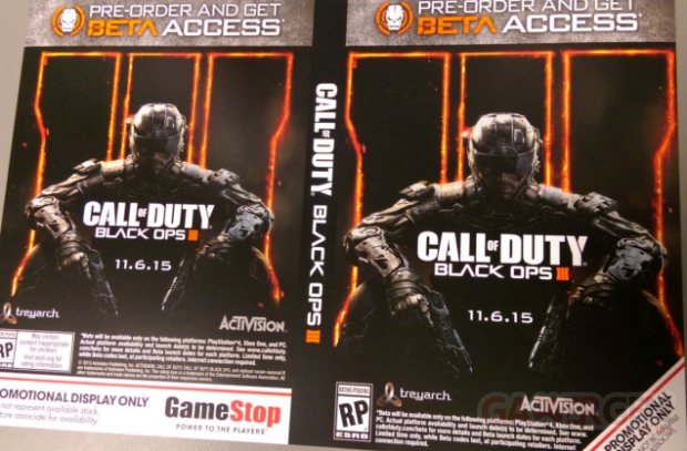 Call of Duty Black Ops III 3 Gamestop Date de sortie