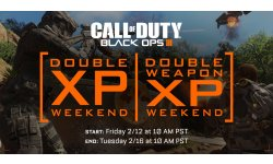 call of duty black ops III bo3 double xp weapon week end