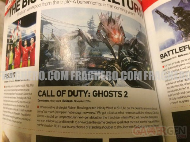 Call of Duty Ghosts 2 leak