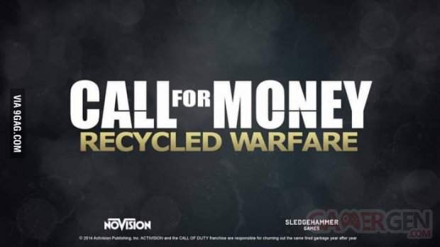 Call of Duty Recycled Warfare
