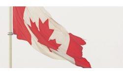 canada sad close ferme triste drapeau flag