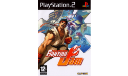 capcom fighting jam cover jaquette ps2
