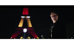 Captain America Civil War Robert Downey Jr tour eiffel