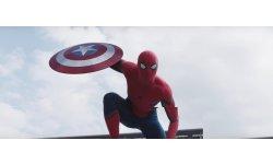 Captain America Civil War Spider Man costume Tom Holland