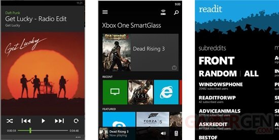 Capture Readit Smartglass Spotify