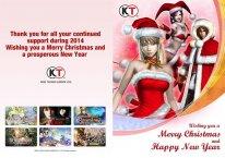 Carte voeux Koei Tecmo
