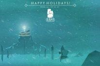 Cartes Voeux Noel 2014 Capybara