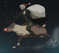 Cartes Voeux Noel 2014 Deus Ex