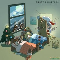 Cartes Voeux Noel 2014 Falcom