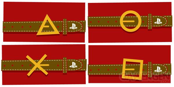 Cartes Voeux Noel 2014 PlayStation