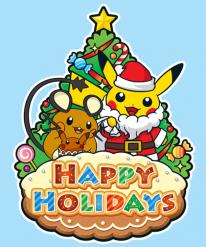 Cartes Voeux Noel 2014 Pokémon