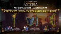 Champions of Anteria bonus 1