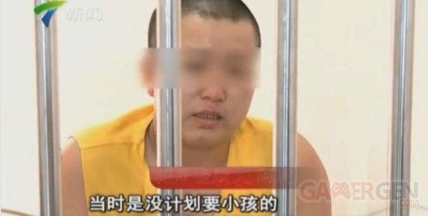Chine trafic enfants jeux vide?o