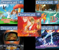 cinq jeux Dreamcast rush on game