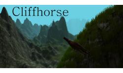 cliff horse vignette