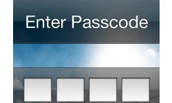 code iphone enter passcode