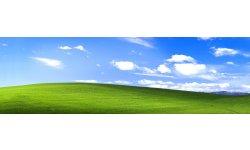Colline verdoyante large Windows XP