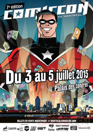 comiccon montreal 2015 affiche officielle poster