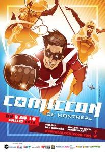 ComicCon Montreal 2016 affiche