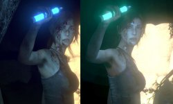 Comparaison Rise of The Tomb Raider