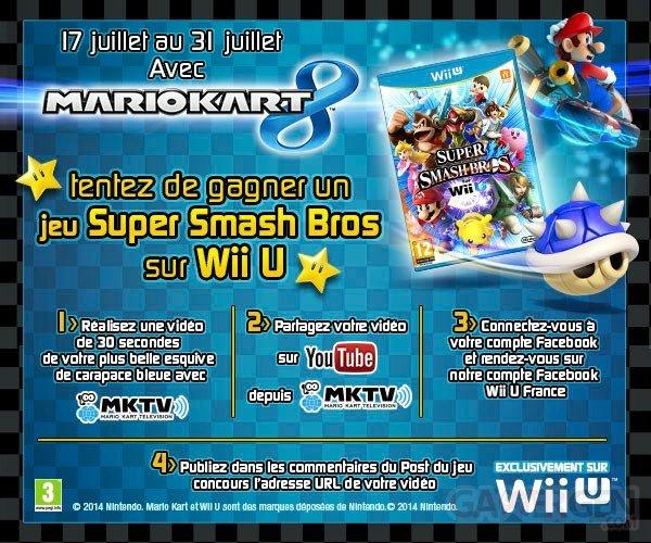 Concours Mario Kart 8 Super Smash Bros
